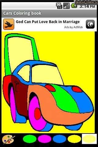 Игры для детей для андроида раскраски