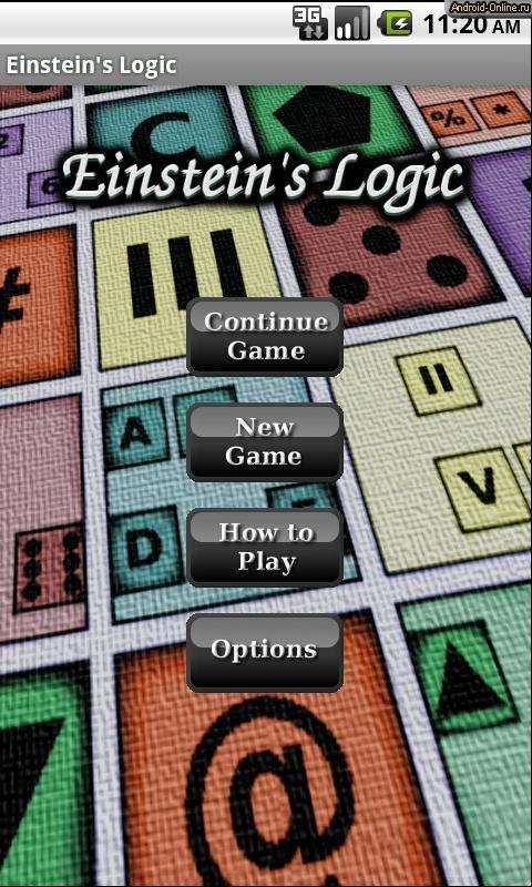 Игра Головоломка Эйнштейна Играть