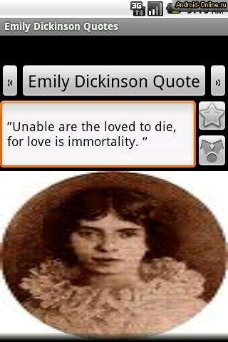 emily dickinson term paper