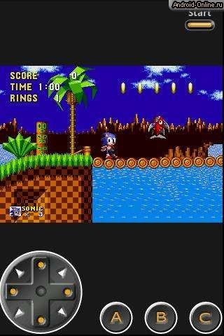 Эмулятор Sega Android