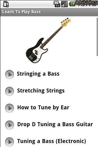 learning to play the string bass For when you have to learn to play the bass right now a 4 string bass often times different ways of learning to play a song will still incorporate music.