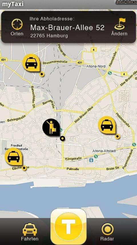 mytaxi intelligent apps gmbh extension from