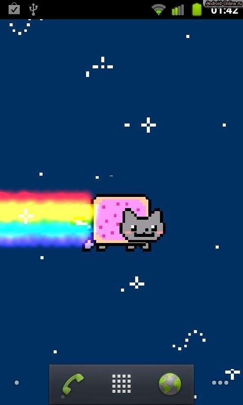 Nyan Cat Android Скачать