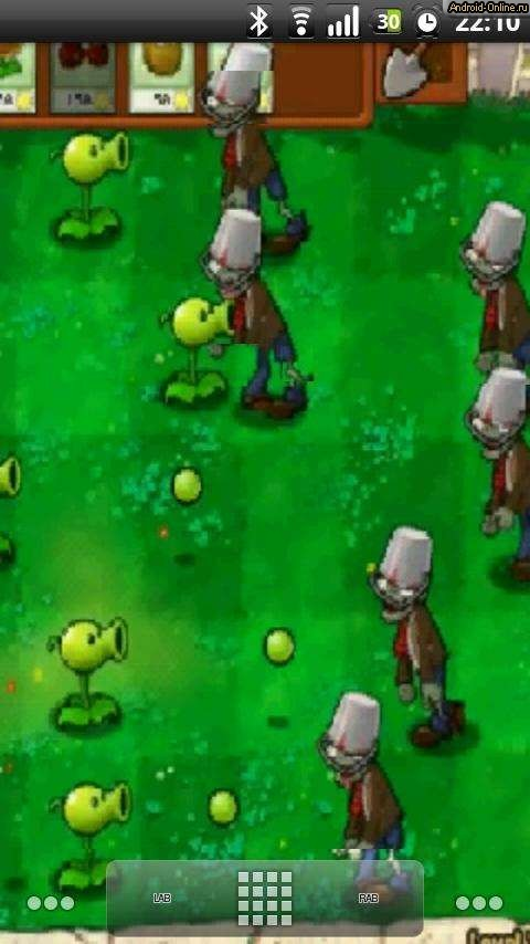 Zombie Plants Android
