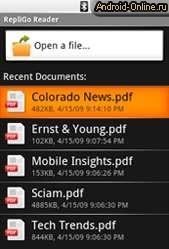 Как Установить Pdf Reader Для Android 2.1