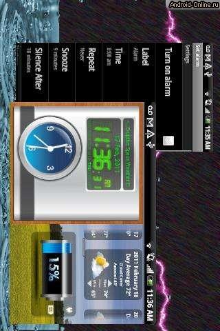 Программа На Андроид Часы На Темном Экране