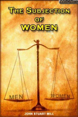 on the subjection of women essay
