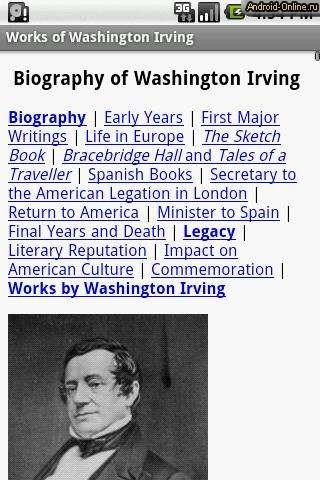 a biography of washington irving an american author Read more about the author washington irving (1783-1859) was an american short story writer, essayist, biographer, historian, and diplomat of although i am an avid reader of history and have read a few biographies of washington, including washington irving's, i was not aware until recently that.